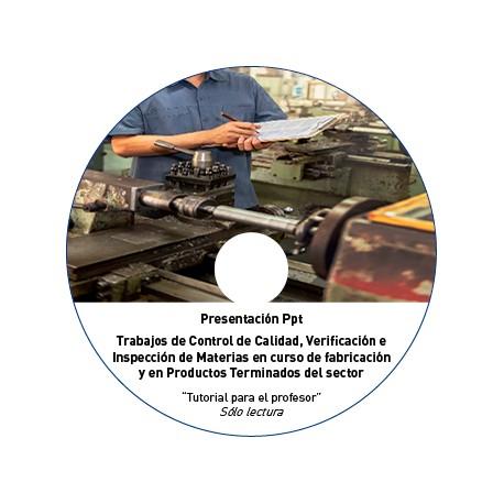 TUTORIAL - CONTROL DE CALIDAD, INSPECCIÓN METAL
