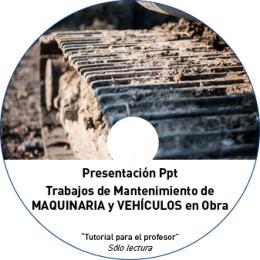 TUTORIAL - MANTENIMIENTO DE MAQUINARIA Y VEHÍCULOS