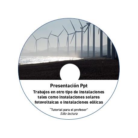 TUTORIAL - INSTALACIONES FOTOVOLTAICAS / EÓLICAS / OTRAS