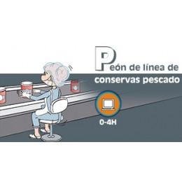 PEON DE LINEA CONSERVAS PESCADO (0-4h) - ONLINE