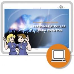 AUXILIAR EVENTOS Y ESPECTACULOS ART19 (0-4h) - ONLINE