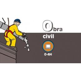 PREVENCIÓN EN OBRA CIVIL ART19 (0-4h) - ONLINE