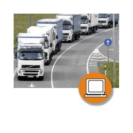 SEGURIDAD VIAL - TRANSPORTE CARGAS  (30-50h) - ONLINE