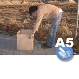 MANIPULACION MANUAL CARGAS. ERGONOMIA ART19 (0-3h) - LIBRO A5