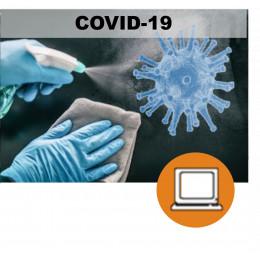 CORONAVIRUS COVID19 - LIMPIEZA Y DESINFECCION (0-3h) - ONLINE