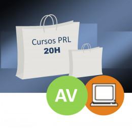 CURSOS PRL (20H) AULA VIRTUAL/ONLINE - BOLSA