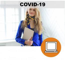 CORONAVIRUS COVID19 NUEVA NORMALIDAD (0-3h) - AZAFATAS DE CONGRESOS - ONLINE