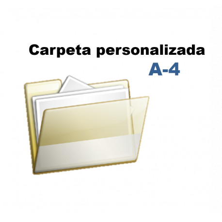 CARPETA PERSONALIZADA A4 (MAT)