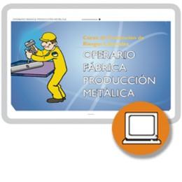 OPERARIO FÁBRICA PRODUCCIÓN METÁLICA ART19 (0-3h) - ONLINE