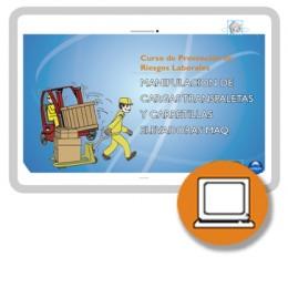 CARRETILLA ELEVADORA - TRANSPALETA ART19 (0-3h) - ONLINE